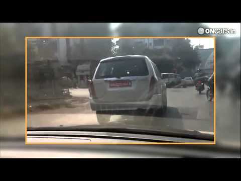 mu 7 caught testing in india what you see here is the isuzu mu 7 suv