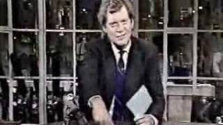 Letterman Flips Off Viewer