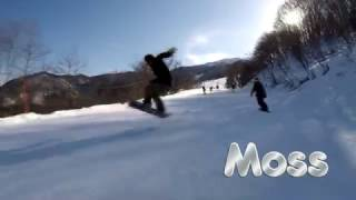 【YOSHIHIRO ASAKO】グラトリ 스노보드 groundtrick  snowboard gopro awesome nollie ollie howto wow 動画  trick