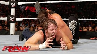 Dean Ambrose vs. AJ Styles: Raw, June 27, 2016