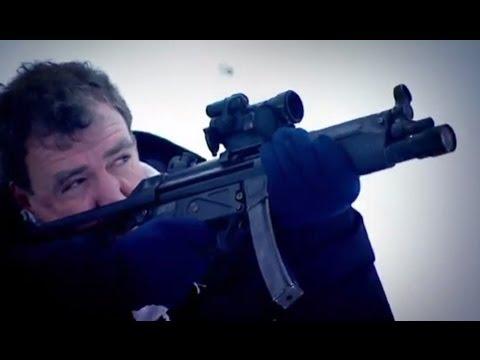 Guns & Ice: Winter Biathlon Challenge | Top Gear Winter Olympics | BBC