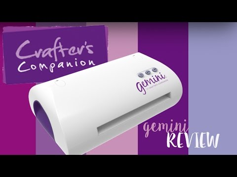 Crafters Companion Gemini Review and Instructions