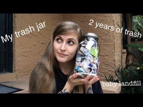 Two Years Of Trash | Zero Waste Trash Jar