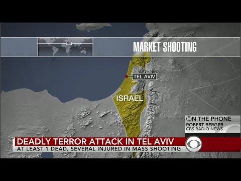 Israel : Deadly Palestinian Terror Attack beside IDF Headquarters in Tel Aviv (Jun 08, 2016)