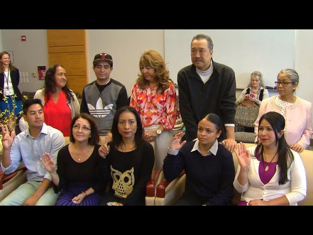 Patients of six-way kidney swap meet for the first time