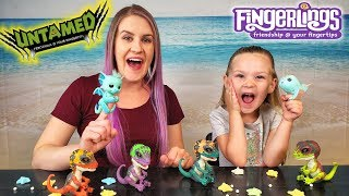 Madison Opens New Fingerling Narwhal and Fingerling Dinos Toys!