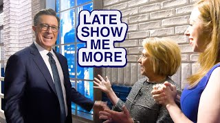 LATE SHOW ME MORE: That Was So Much Fun!
