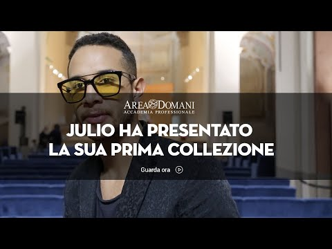Intervista a Jonas allievo di Fashion Design e Sartoria | Area Domani