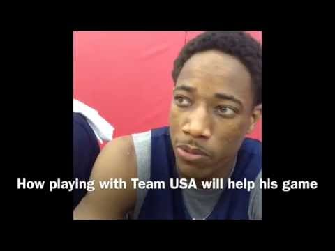DeMar DeRozan Talks USA Basketball, Toronto Raptors