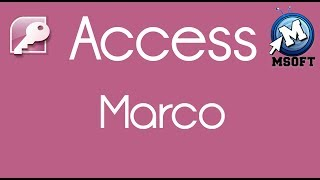7 - | Access | Macro | Msoft | (Darija)