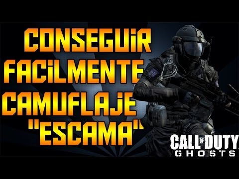 ¡¡ Call Of Duty Ghosts !! - ¡¡ Como conseguir fácilmente camuflaje escama !!