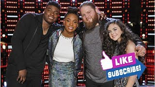 'The Voice' Season 15 finale: Which artist do YOU want to win -- Chevel, Chris, Kennedy or Kirk? ...