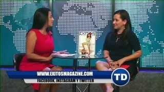 Presentacion de Éxitos Magazine en Telediario