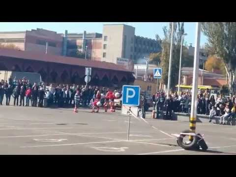 "Dnepr Auto Retro Show - 2014 (""D.A.R.S. - 2014""), Соревнование ретро автомобилей (""Ретро-слалом"")"