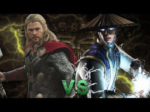 Thor vs Raiden. Épicas Batallas de Rap del Frikismo ¡Bonus! | Keyblade ft. Xenon thumbnail