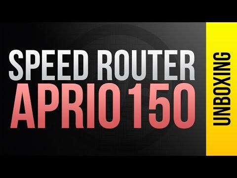 Roteador Wireless Smart Lan, SPEED ROUTER APRIO150