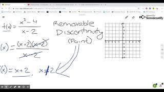 3.5 Graph Rational Equation - Removable Discontinuity