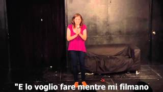 Rachel Bloom   The Cake Farts Song SUB ITA