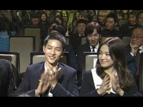 Song Joong Ki & Song Hye Kyo [ENG SUB] Highlights & Speeches @ Popular Culture & Arts Awards