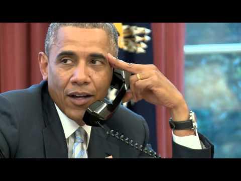 Obama Welcomes Tim Howard Back to MLS