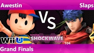 SW 104 - SS   Awestin (Ness) vs SWG   Slaps (Ike) Grand Finals - Smash 4