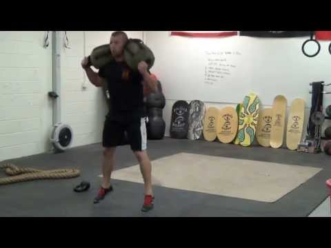 I Wouldn't Want to Fight This Guy! (Sandbag Training Complex) Image 1