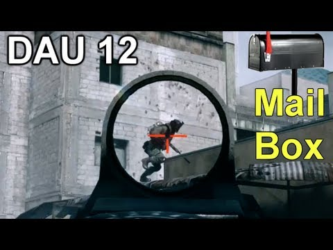 Battlefield 3 : PDW  DAO 12  Mail Box