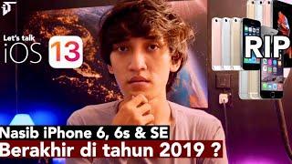 Kabar Buruk, iPhone 6, 6s & SE tidak support iOS 13 ? :(