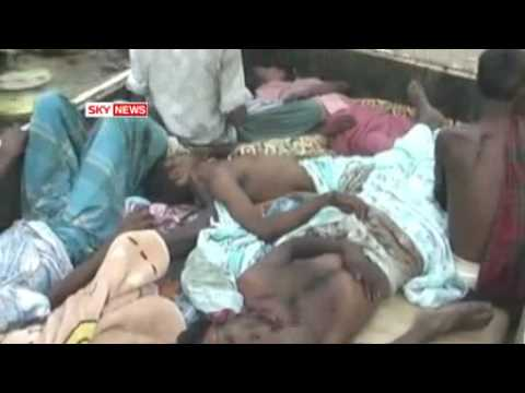 Sri Lanka Tamil refugees tell of rape and kinappings in camps Sky News Video