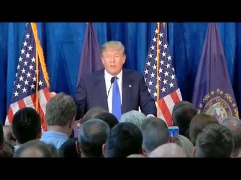 Donald Trump Slams Mexico at Town Hall in New Hampshire