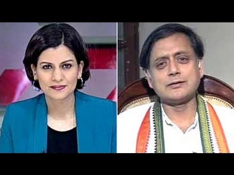 Churlish not to acknowledge Narendra Modi - Shashi Tharoor to NDTV