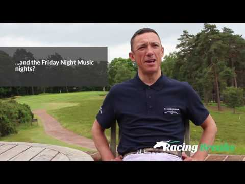 Frankie Dettori Interview - All About Racecourses