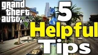 GTA 5 - 5 HELPFUL THINGS TO KNOW (25% Discount, More Money, Fast Travel & More) [GTA V]