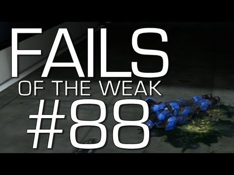 Halo: Reach - Fails of the Weak Volume 88 (Funny Halo Bloopers and Screw-Ups!)