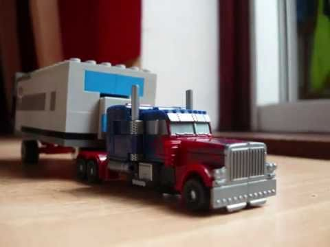 Transformers Optimus vs sentinel stop motion Music Videos