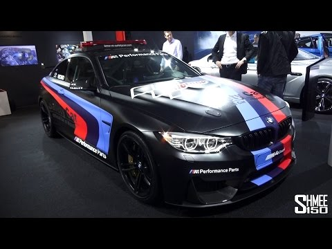 FIRST LOOK: MotoGP BMW M4 Safety Car - Water Cooled - Geneva 2015