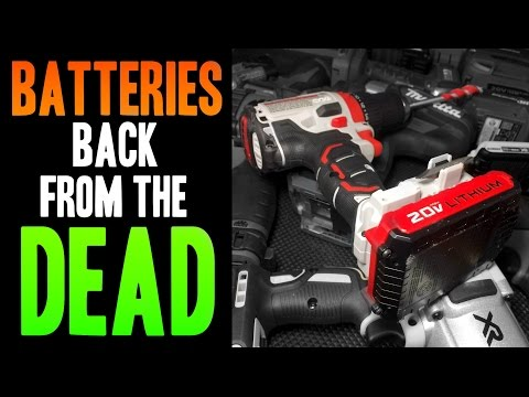 Back from the DEAD!  Lithium Batteries!