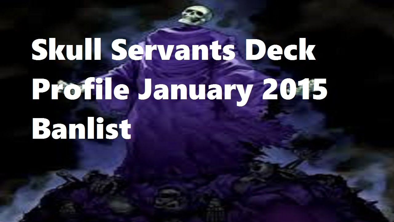 Yugioh Skull Servant Deck Yugioh Skull Servants Deck