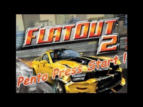 Pento Press Start : Flatout 2 sur PC ! Crash, destruction et Rock'n'Roll