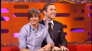 David Walliams and Zac Efron - The Graham Norton Show BBC TWO