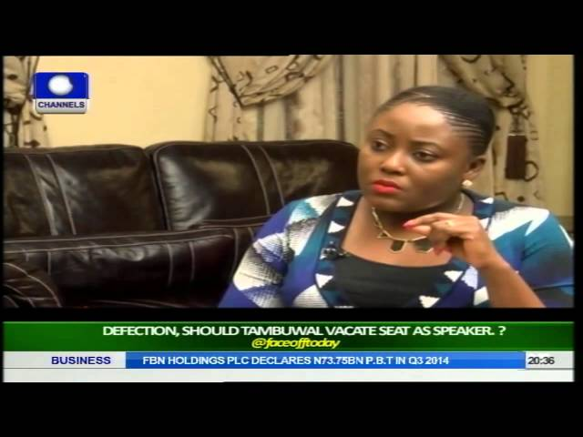 Face Off: Should Tambuwal Vacate Seat As Speaker? Pt 2