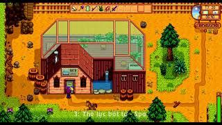 Stardew Valley - 3 Cách ăn gian trong game