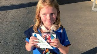 Girl Guide sells cookies in cannabis store lineup