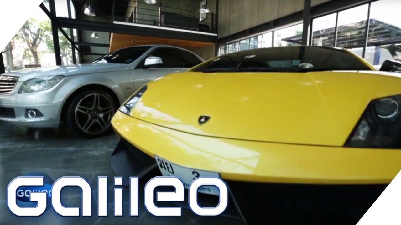 Fake Autos Die Tuschend Echte Lamborghini Kopie