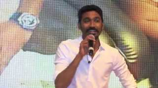 Actor Dhanush Sings For the Students at sathyabama university - Red Pix24x7