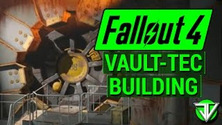 FALLOUT 4: Vault-Tec DLC Basic VAULT BUILDING Guide! (Connecting Power, Rooms, and Atriums!)