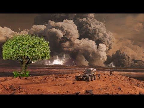 क्या मंगल ग्रह पर खेती कर सकते हैं What happens when we plant tree on Mars Mars - The Red Planet