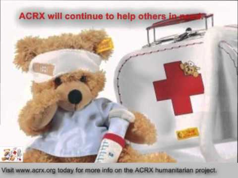 Free Medicine Help Donated to University Child Development Center by Charles Myrick of ACRX