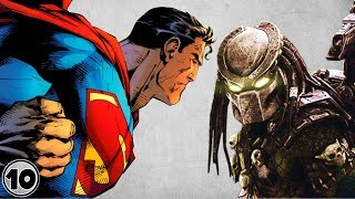 Top 10 Superheroes Who Fought The Predator