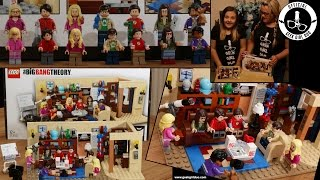 Lego Build The Big Bang Theory - Season 9 Starts Today !